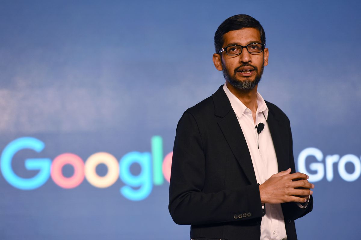 Sundar Pichai CEO of Googl